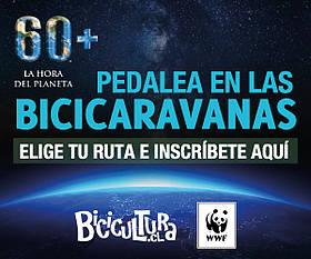 Rutas Bicicaravana WWF Hora del Planeta EmprendoVerde