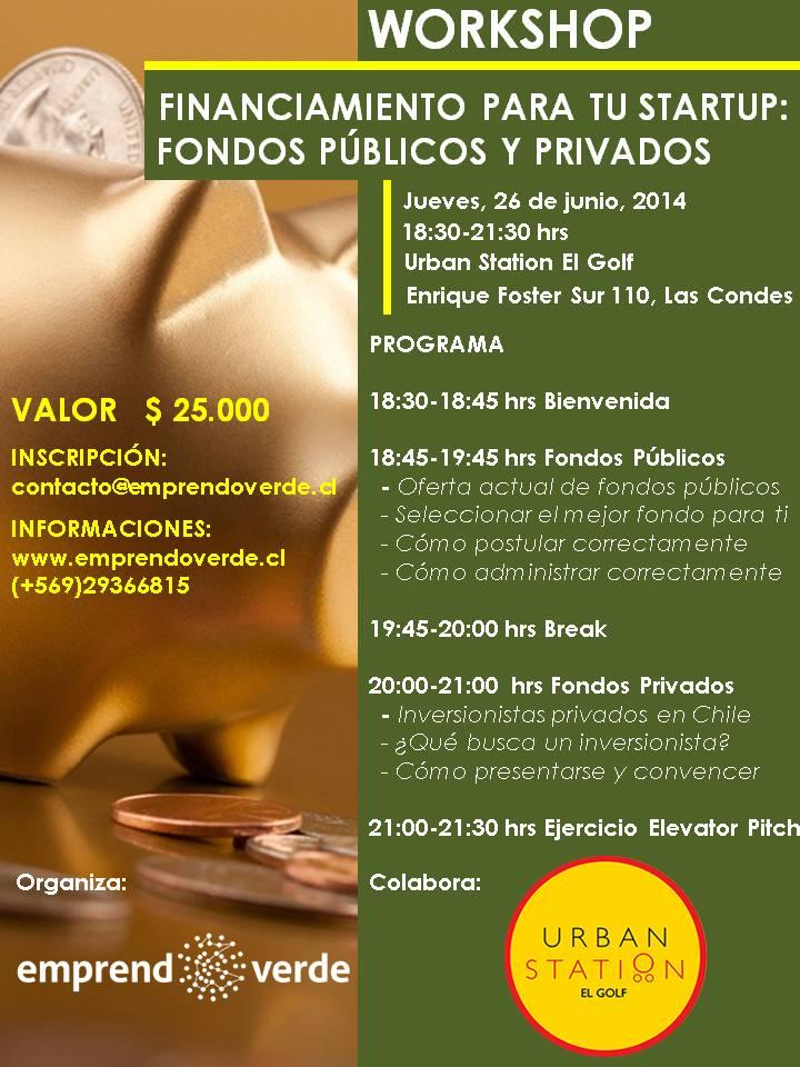 Fondos publicos privados 26 de junio 2014