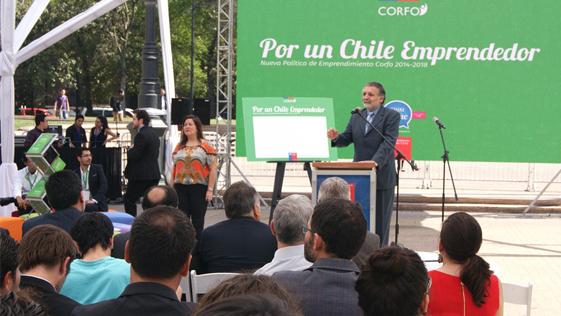 Por un Chile Emprendedor Nueva Política Corfo