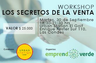 Los Secretos de la Venta - Workshop EmprendoVerde